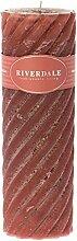 Riverdale Duftkerze Swirl Rose 7,5x23 cm - Duft