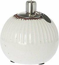 Riverdale Öllampe Saintes weiß
