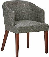 Rivet Alfred Esszimmer-Akzent-Stuhl im Stil der