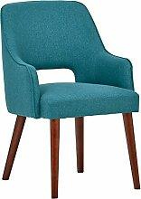 Rivet Whidbey Esszimmer-Akzent-Stuhl mit offener