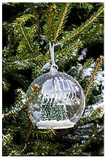 Riviera Maison - Let It Snow Green Forest Ornament