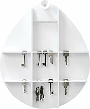RIZZ The Cabinet Schlüsselschrank, weiß matt