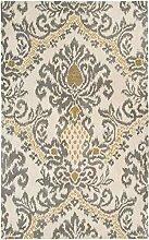 Rizzy Home Bereich Teppich, Wolle, beige, 2' x