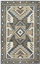 Rizzy Home Bereich Teppich, Wolle, Grau, 3'x