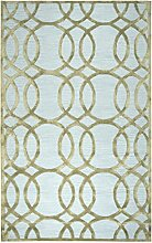 rizzy-Monroe-Hand-Tufted Bereich Teppich, Wolle,