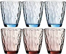 RJBGYP Wasserbecher Glasset Hitzebeständige