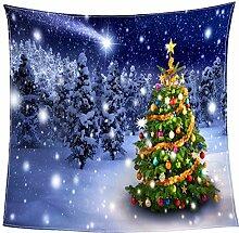 Rjjdd Digital Print Weihnachten Decke Decken Manta