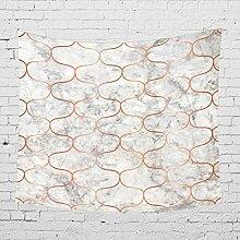 Rjjrr Heißer Marmor Bedruckte Tapisserie/Wand