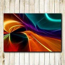 Rjunjie Hintergrund Abstrakte Feder HD Print