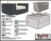 RLC115straight Schutzhülle für Lounge Sessel, Lounge Chair order Lounge Stuhl, passt am besten am Stuhl von max. 110 x 95 cm.Schutzhülle für Lounge Sessel, Abdeckung für Lounge Stuhl