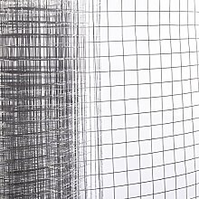 RMAN Metallgitter Maschendrahtzaun für Baustellenzaun Geflügelzaun,Drahtgeflecht, kaltverzinkter Eisendrah
