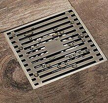 Rmbearmoni Bodenablauf Antike Bronze Dusche