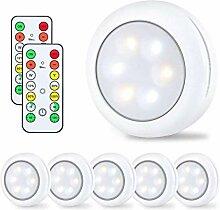 Rmeet Schrankbeleuchtung Dimmbare,Wireless LED
