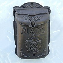 RMJAI Mailbox Vintage Outdoor Wall Mount Mailbox,