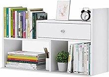 RMJAI Wohnzimmer Bücherregal mit Schubladen