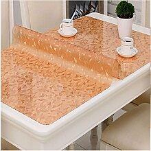 RMJXJJ-Transparente Tischdecke Weiches Glas