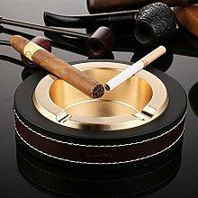 RNFJFMSX Aschenbecher zigarre,Ledergriffband