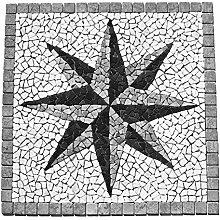 RO-007 Marmor Rosone Einleger Mosaikfliesen