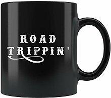 Road Trip Gift, Road Trip Mug, Travel Buddies Mug,