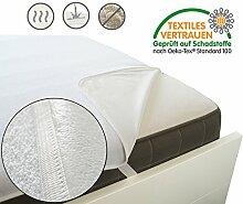 Roban Fashion ® Wasserdichter Matratzenschoner - Wasserundurchlässige Matratzenauflage Kopfkissenschoner in verschiedenen Größen OEKO-TEX® Standard 100 (200 x 220 cm)