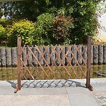 Robasiom Lovinn Gartenzaun aus Holz, Dekoration,