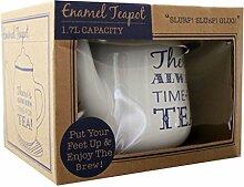Robert Frederick Tee Topf Emaille–Es gibt