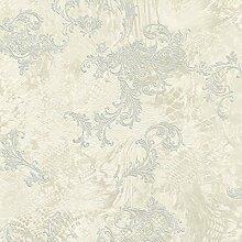 Roberto Cavalli RC14079 &Beige-weiss silber Glitzer Tapete, Textur, modernes Design