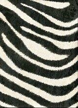 Roberto Cavalli-Tierdruck-Tapete-Funktion Schwarz Weiß 70cm Breite RC12046