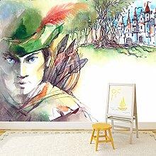 Robin Hood Wandbild Fantasie Art Foto-Tapete Kinderzimmer Wohnkultur Erhältlich in 8 Größen XX-Groß Digital