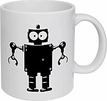 Robot' Ceramic Mug/Travel Coffee Mug