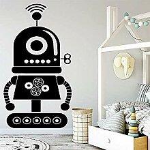 Roboter Wandkunst Aufkleber Wandaufkleber für