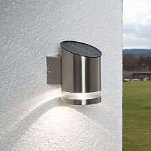Robuste Außenleuchte aus Edelstahl inkl. LED