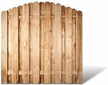 Robuste Holzgartenzaun Zaunelemente in den Maßen