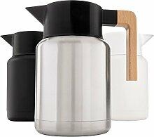 Robuste Thermo-Kaffeekaraffe – Edelstahl,