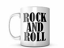 Rock And Roll Keramik Tasse Kaffee Tee Becher Mug