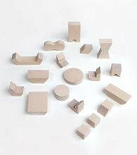 Rock&Pebble Möbel für Puppenhaus aus Holz