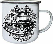 Rockabilly hot rod street classic Retro, Zinn,