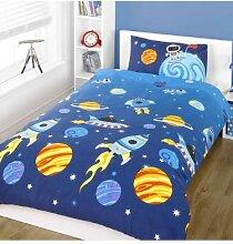 Rockets Kinder/Jungen Bettwäsche Set (Einzelbett)