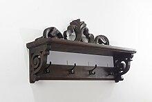 ROCOCO Dekorative Garderobenleiste Cherin aus Holz