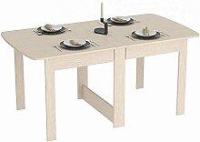 Rodnik Klappbarer Tisch - Klapptisch Eiche Weiß -