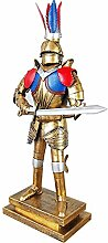 Römische Krieger-Statue, Rüstungs-Ritter-Soldat