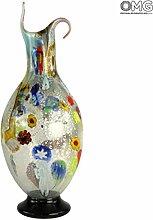 Römischer Krug – Vase – Original Muranoglas