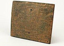 Römisches Militärdiplom bronziert - römische Geschichte zum Begreifen - Armee Diplom zur Dekoration der Wohnung