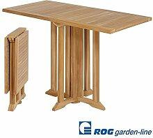 ROG garden-line TL8124: Teak BALKONTISCH Ibiza,