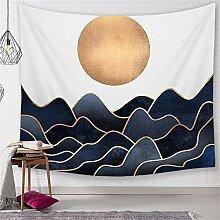 ROG000 Wandbehang Wandteppich Japanische Sonne