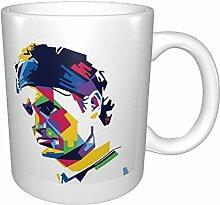 Roger Federer Becher doppelseitig bedruckte