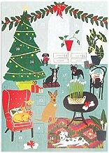 Roger la Borde Fox Cub's First Christmas