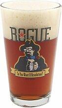 Rogue Ales Revolution Pint-Glas, 473 ml