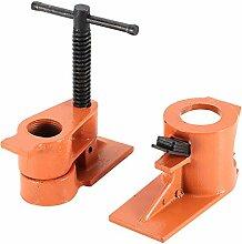 Rohrschellen-Werkzeuge, Klemmschraubstock,