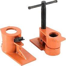 Rohrschellen-Werkzeuge, Klemmschraubstock, robuste